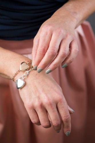 Heart Bracelet - Brunels Funeral Directors