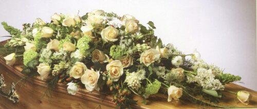 English Garden Spray - Brunels Funeral Directors