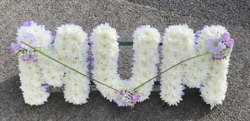Mum Purple - Brunels Funeral Directors