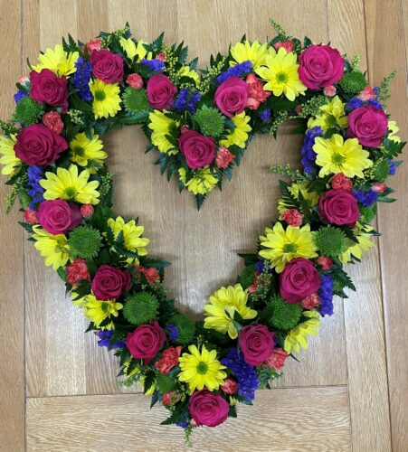 Spring Heart - Brunels Funeral Directors