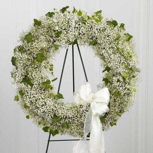 Baby's Wreath - Brunels Funeral Directors